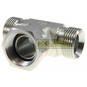 S6MK4S - T-koppling liggande UF-IR-UF