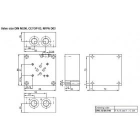 Montageplatta NG06 1 sektion