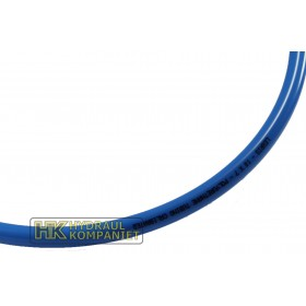 Polyamidslang 6mm blå