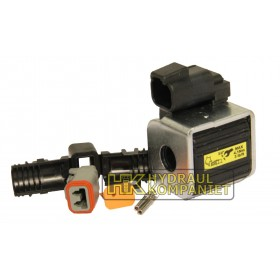 Spole by-pass för 13mm stolpe 24VDC