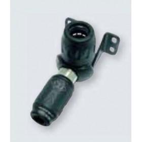Uttag inkl. snabbkoppling ø25mm till 1 x (ISO B 6)