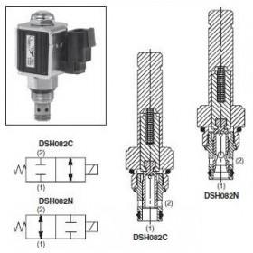 2/2-ventil El-styrd NC 15L/min Kavitet C08-2