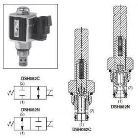 2/2-ventil El-styrd NO 15L/min Kavitet C08-2