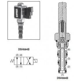 4/2-ventil El-styrd 11-15L/min Kavitet C08-4
