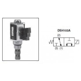 3/2-ventil El-styrd 30L/min Kavitet C10-3
