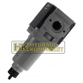 Filter G1/4, 5micron, manuell dränering