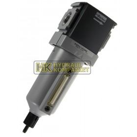 Filter G1/2, 5micron, manuell dränering